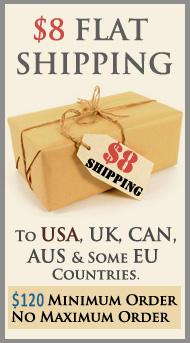 $8 Flat Shipping