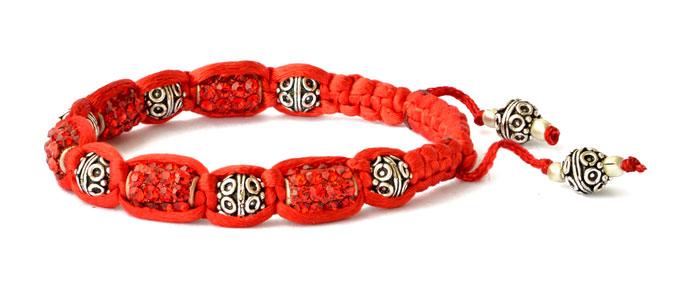 Red Shamballa Bracelet