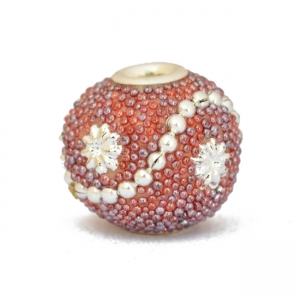 Multicolor Beads Studded with Grains & Accessories