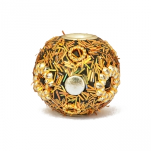 Golden Beads Studded with Accessories