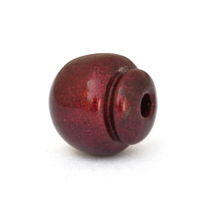 Unusual Shaped Maroon Beads