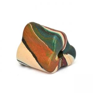Multicolor Triangular Lac Beads