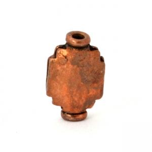 Oxidized Copper Beads in 11x7x3mm