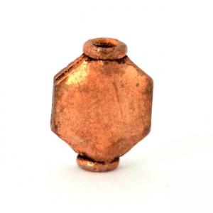 Oxidized Copper Beads in 11x8x4mm