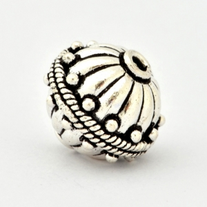 100gm Silver Plated Copper Beads in 19x17mm