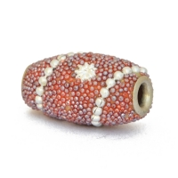 Multicolor Kahsmiri Beads Studded with Grains & Accessories