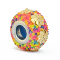 Euro Style Bead Studded with Multicolor Grains & Accessories