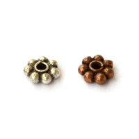 Copper Spacer Beads in 5x2mm