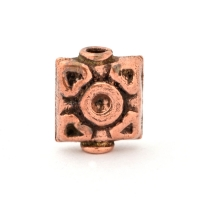 Oxidized Copper Square Beads in 12x5mm