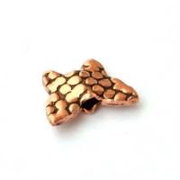 Butterfly Shaped Oxidized Copper Beads in 12x4mm