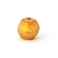 100gm Round Gold Plated Copper Beads in 6mm