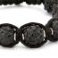 Black Shamballa Beads | MSBR-153