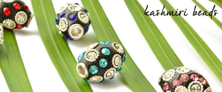 Kashmiri Rhinestone Beads